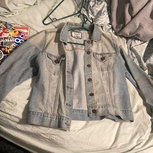 2/$20 Forever21 Light Faded Jean Jacket